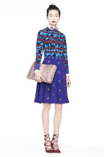 In this image provided by J.Crew the J.Crew Fall 2013 fashion collection is modeled during Fashion Week, Tuesday, Feb. 12, 2013, in New York. (AP Photo/ J.Crew)
