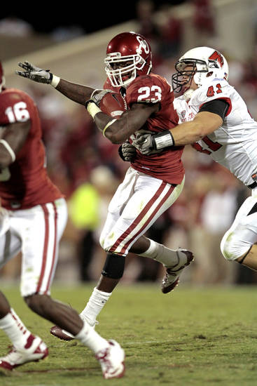 Former OU running back Brandon Williams transferred to Texas A&M and had his waiver application denied by the NCAA, meaning he won't be eligible to play until 2013. PHOTO BY STEVE SISNEY, THE OKLAHOMAN ARCHIVE