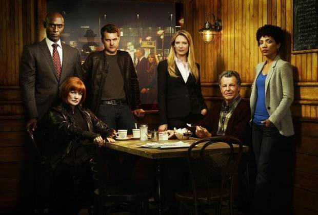 FRINGE: The Fringe team returns in the FRINGE Season Three premiere airing Thursday, Sept. 23 (9:00-10:00 PM ET/PT) on FOX. &amp;#xa9;2010 Fox Broadcasting Co. Pictured L-R: Blair Brown, Lance Reddick, Joshua Jackson, Anna Torv, John Noble and Jasika Nicole. CR:Smallz and Raskind/FOX