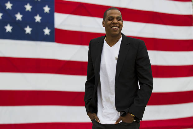 Rapper Jay Z will perform on Dec. 18 at Chesapeake Energy Arena. <strong>Matt Rourke</strong>