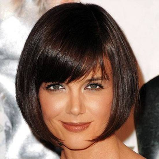 Katie Holmes ... looking good in a bob.