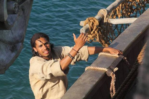 SINBAD -- Season:1 -- Pictured: Elliot Knight as Sinbad -- (Photo by: Syfy)