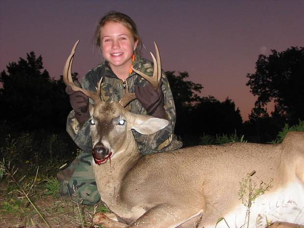Sydney Jensen's first deer
