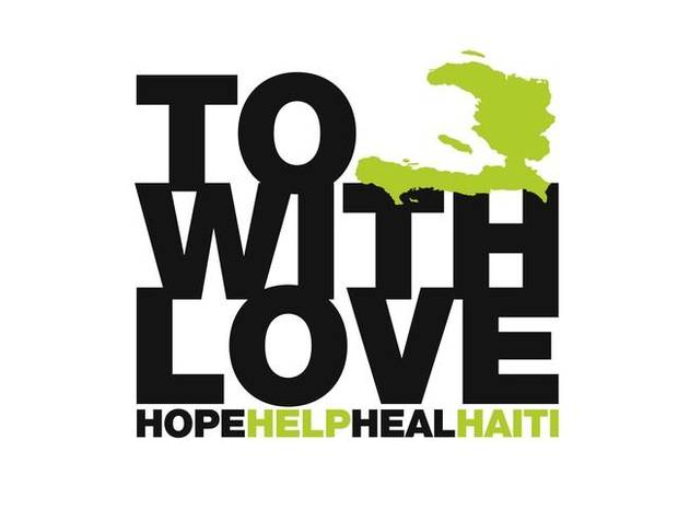 This logo will be on the Fashion for Haiti T-shirt.
