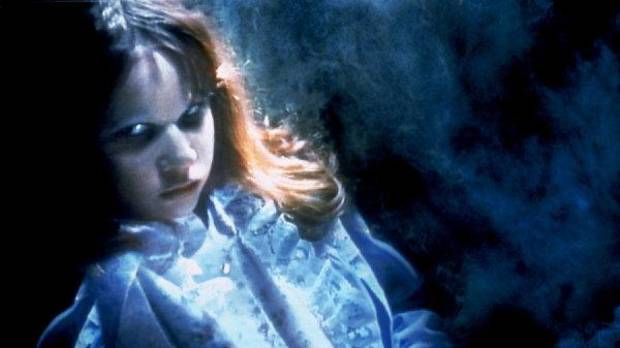 "In this publicity image released by Warner Bros. Entertainment, Linda Blair portrays a possessed Regan MacNeil in a scene from the 1973 horror film ""The Exorcist."" AP photo <strong></strong>"