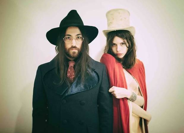 Sean Lennon and his longtime girlfriend Charlotte Kemp Muhl form the creative core of the band The Ghost of a Saber Tooth Tiger, or The GOASTT. Photo provided