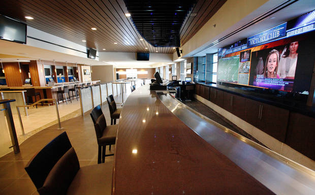 Chesapeake Arena Victory Club.  Upgrades to the Chesapeake Energy Arena in downtown Oklahoma City.  Photographed Tuesday, Oct. 11, 2011.  Photo by Jim Beckel, The Oklahoman