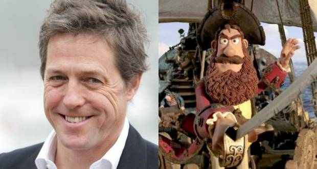 Hugh Grant, Pirate Captain