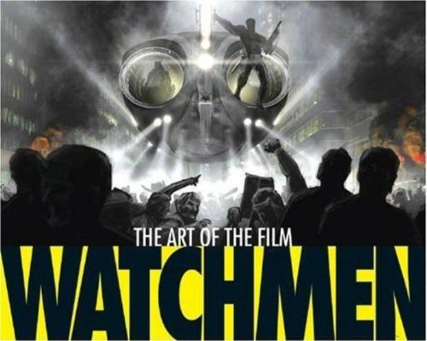Cover to Watchmen: The Art of the Film