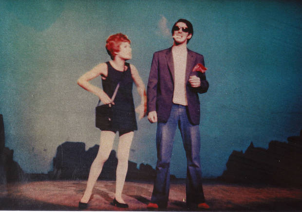 Bobbie Burbridge Lane with actor Todd Van Every in Lyric?s 1969 production of ?Sweet Charity.?? PHOTO PROVIDED