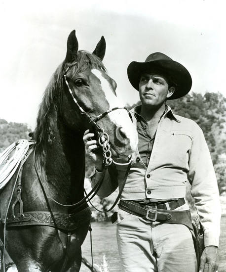 Dale Robertson portrays Jim Hardie in the 1950s TV series �Tales of Wells Fargo.� PHOTO PROVIDED
