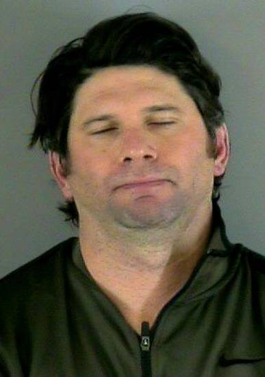 This booking photo released by the Thornton Colorado Police Department on Wednesday, Feb. 6, 2013, shows Colorado Rockies first baseman Todd Helton. Helton was arrested on a charge of driving under the influence Wednesday morning in the Denver suburb of Thornton, the team announced Wednesday. No other details have been released.(AP Photo/Thornton Police Dept)