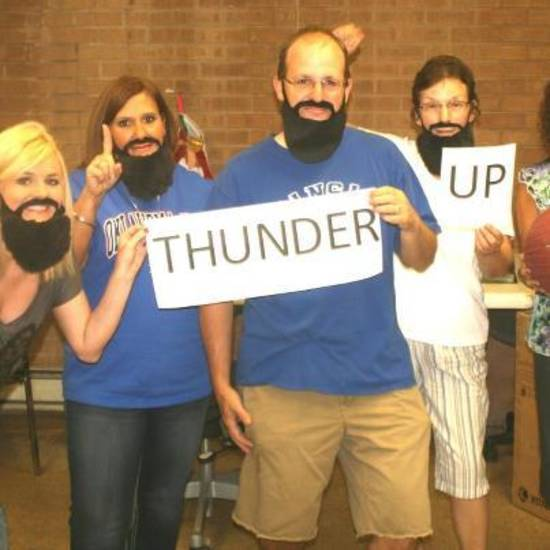 Thunder up from the McCurtain Gazette in Idabel, Okla.