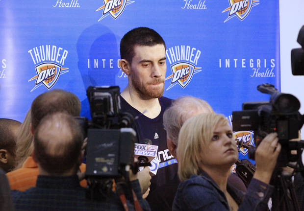 Nick Collison addresses the prospect of a gay NBA player
