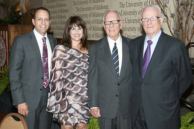 Joseph Harroz Jr., Samia Harroz, Thomas R. Brett, Bill Paul. PHOTOS PROVIDED