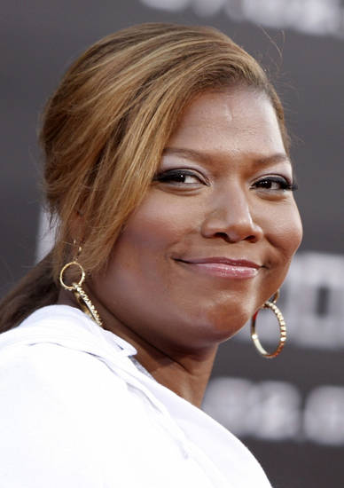 "** CORRECTS YEAR TO 2008 ** FILE - In this June 30, 2008 file photo, Queen Latifah arrives at the ""Hancock"" premiere in Los Angeles. (AP Photo/ Matt Sayles, file) ORG XMIT: NYET419"