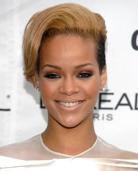 Rihanna attended a Glamour magazine's Women of the Year Awards (AP Photo/Evan Agostini)