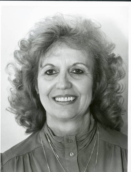 Shirley Conner in a 1989 photo. Conner was too ill to join a reunion of  Oklahoma City�s first female police officers.