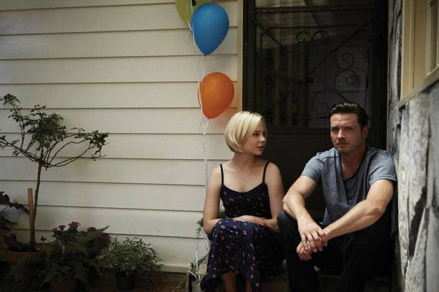 "Adelaide Clemens and Aden Young are shown in a scene from the drama ""Rectify.""  - Sundance Channel Photo"