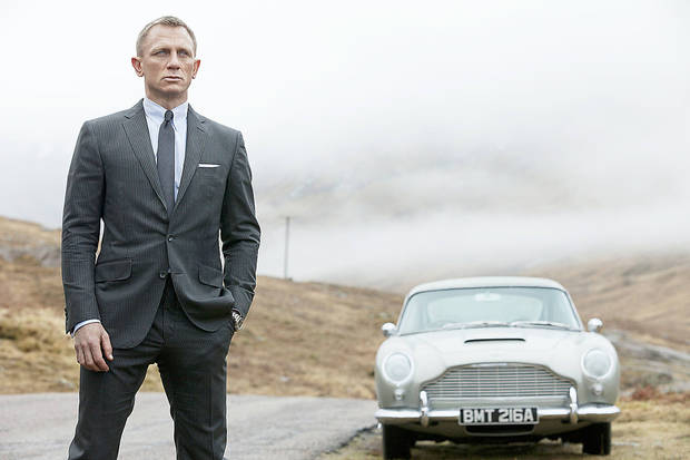 Daniel Craig appears as James Bond in the movie  �Skyfall.� Just a couple of years ago, production was derailed on�Skyfall,� the 23rd movie in the series, while partner Metro-Goldwyn-Mayer Inc. plunged into bankruptcy. MGM emerged in early 2011 with a hefty bankroll that allowed shooting to resume. AP Photo