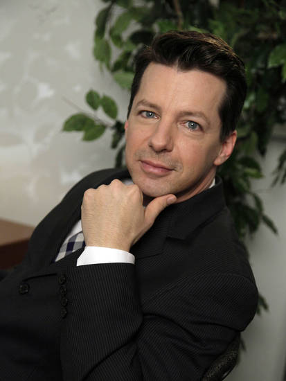 FILE - In this April 26, 2010 file photo, actor Sean Hayes poses for photos in New York.  (AP Photo/Richard Drew, file) ORG XMIT: NYET720