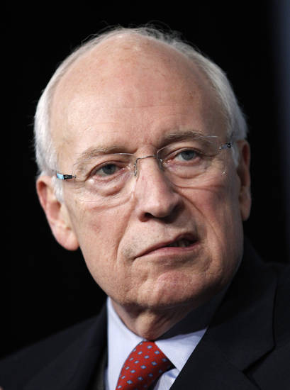 FILE - In this Oct. 6, 2011 file photo, former Vice President Dick Cheney is seen in Washington. Former Vice President Dick Cheney walked onstage without any assistance and spoke for an hour and 15 minutes without seeming to tire in his first public engagement since he underwent a heart transplant three weeks ago, Saturday, April 14, 2012. in Cheyenne, Wyo. (AP Photo/Manuel Balce Ceneta, File)