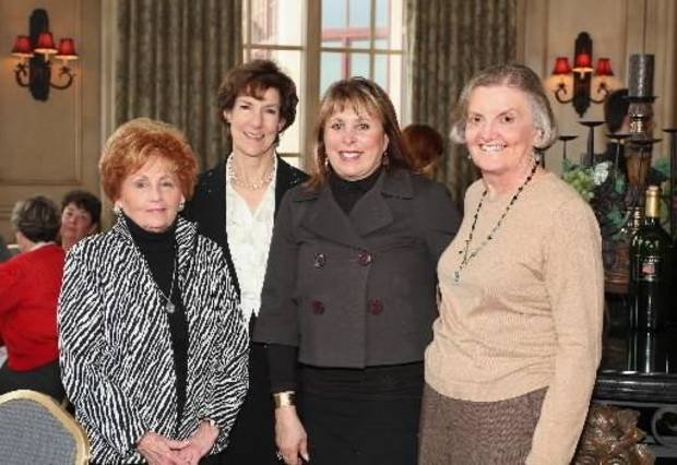 Joane Schmidt, Janet Price, Edie Roodman, and Marilyn Hudson. Photo by David Faytinger