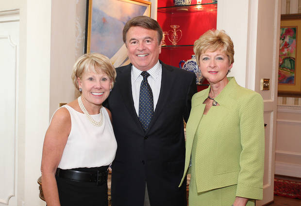 Lana Lopez, Bob Allee, Jane Thompson. PHOTO BY DAVID FAYTINGER, THE OKLAHOMAN  <strong></strong>