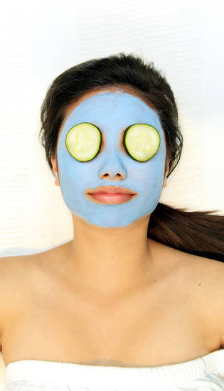 A mask can leave skin feeling hydrated, smooth and refreshed during summer. Photo by Chris Landsberger, The Oklahoman. <strong>CHRIS LANDSBERGER</strong>