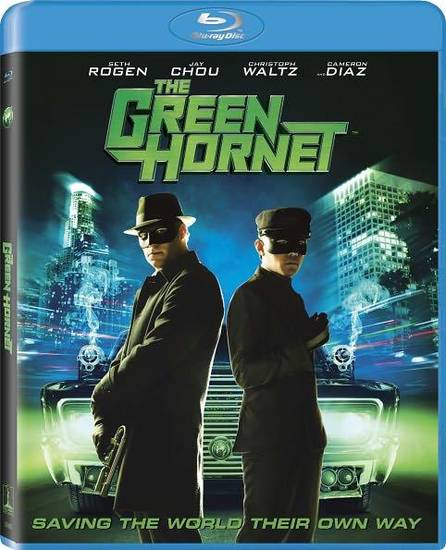 Green Hornet Blu-ray