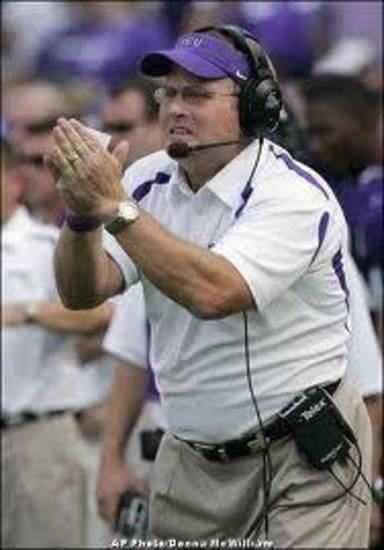 Gary Patterson is staying positive with his Horned Frogs.
