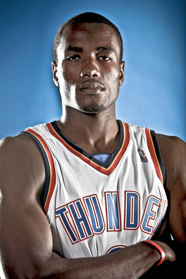 Serge Ibaka Scored 13 points and had 10 rebounds Sunday.