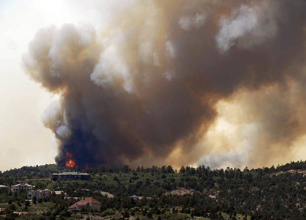 Article Photos: New Colorado wildfire erupts, grows out of control ...