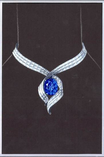 """Embracing Hope"" is the new setting for the Hope Diamond."