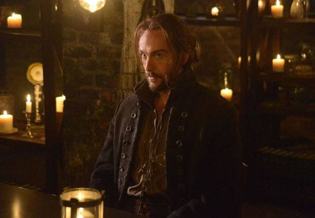 "Ichabod Crane (Tom Mison) in ""The Sin Eater"" episode of ""SLEEPY HOLLOW"" airing at 8 p.m. Monday, Nov. 4 on FOX. ©2013 Fox Broadcasting Co. CR: Brownie Harris/FOX"