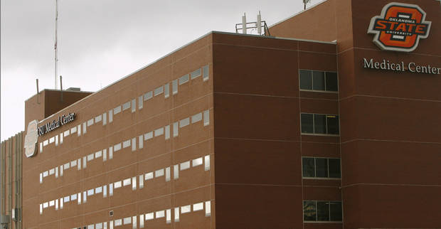 Oklahoma State University Medical Center in Tulsa is shown. Oklahoman Archives Photo <strong>MATT STRASEN - THE OKLAHOMAN</strong>