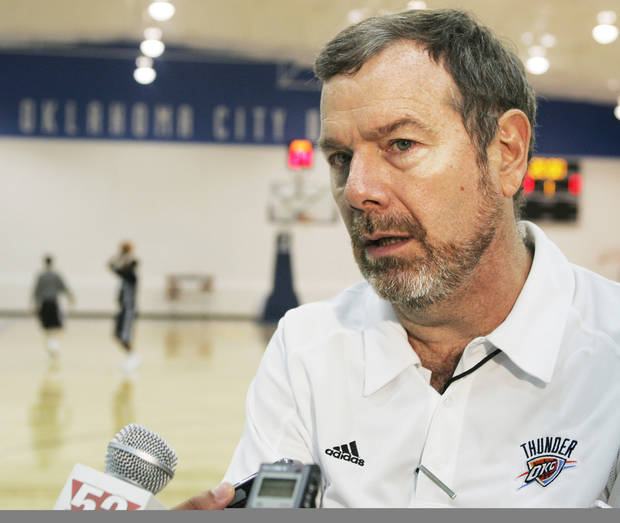 Thunder coach P.J. Carlesimo could have plenty of options off the bench this season.  Associated press <strong></strong>