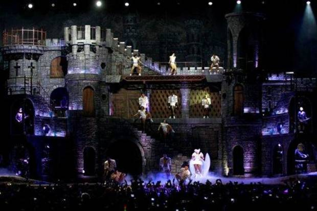 Lady Gaga launches the North American leg of her ?Born This Way Ball World Tour,? Jan. 11 at Rogers Arena in Vancouver, B.C., Canada. Photo by Jeff Vinnick/PictureGroup