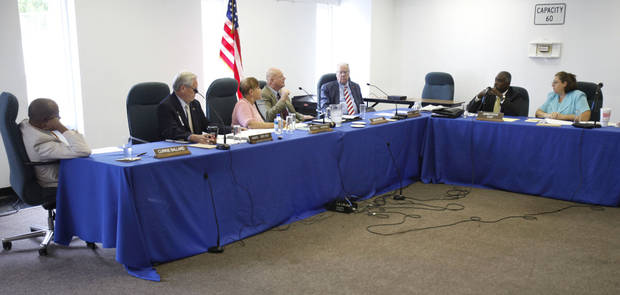MEETING: Oklahoma Pardon and Parole Board members meet in Oklahoma City, OK, Friday, August 24, 2012,  By Paul Hellstern, The Oklahoman <strong>PAUL HELLSTERN - Oklahoman</strong>
