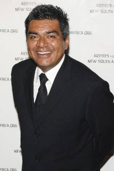 George Lopez during a fundraiser in Beverly Hills (AP Photo by Matt Sayles)