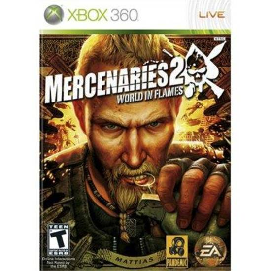 Video game cover for Xbox 360