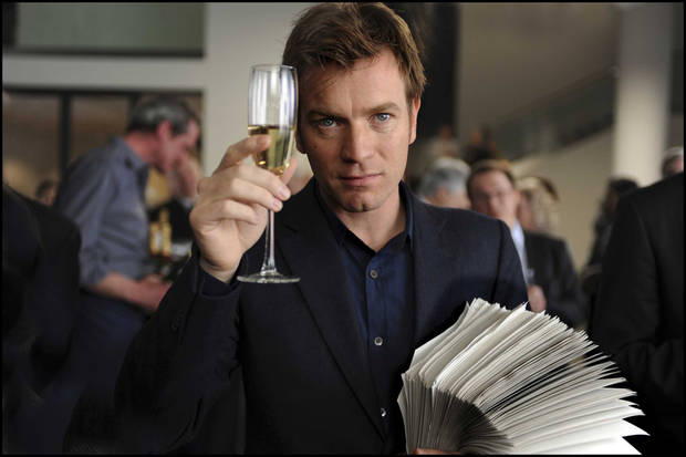 EWAN MCGREGOR  stars in THE GHOST WRITER