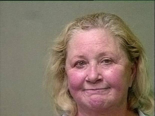 County Clerk Carolyn Caudill, arrested on complaints of DUI and leaving the scene of an accident.