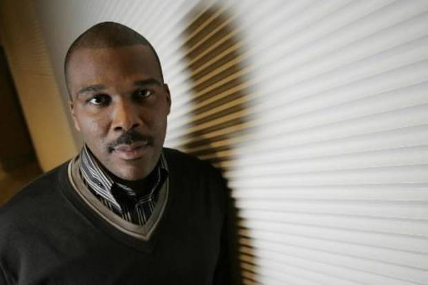 Tyler Perry poses for a portrait at the Core Club in New York (AP Photo by Shiho Fu)