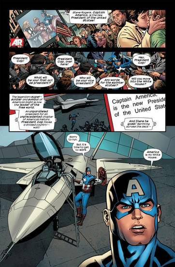 A page from &quot;Ultimate Comics Ultimates&quot; No. 16. Marvel Comics. &lt;strong&gt;&lt;/strong&gt;