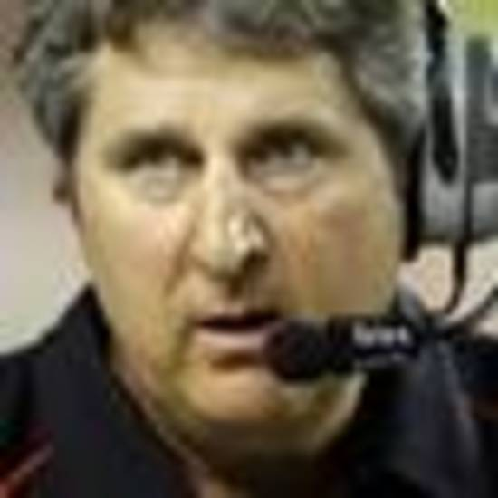 Mike Leach wears a new headset now, talking college football on satellite radio. And he's on record for liking what the Cowboys have done.
