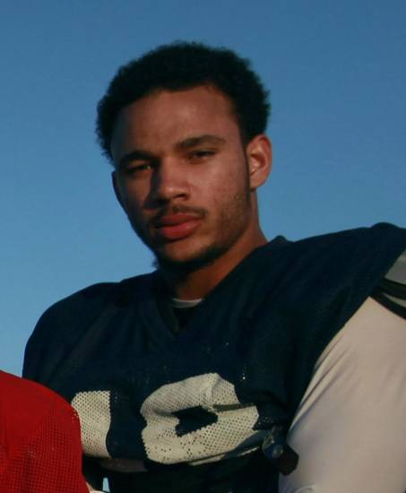 Marcell Ateman, OSU commitment, on the school's field in Wyile, Texas on Tuesday, November 27, 2012.   (Brad Loper/The Dallas Morning News)  ORG XMIT: DMN1211271834533116