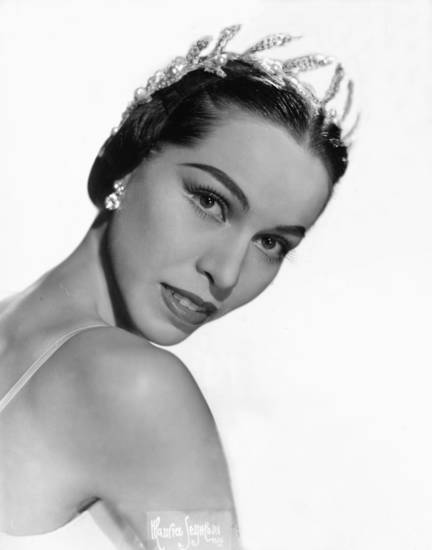 Maria Tallchief in 1954