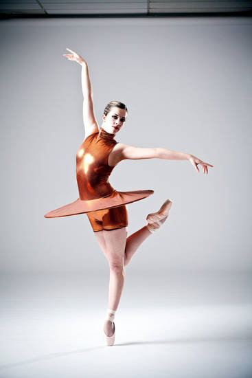 "A dancer strikes a pose from ""Pushing Pennies."" Photo provided <strong></strong>"