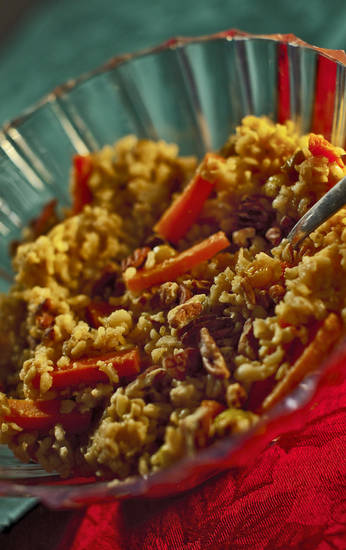 This rice pilaf takes your health as seriously as it does flavor. <strong>CHRIS LANDSBERGER - THE OKLAHOMAN</strong>